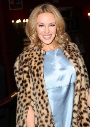 Kylie Minogue - 'Les Grandes Filles' Play Benefiting APREC in Paris