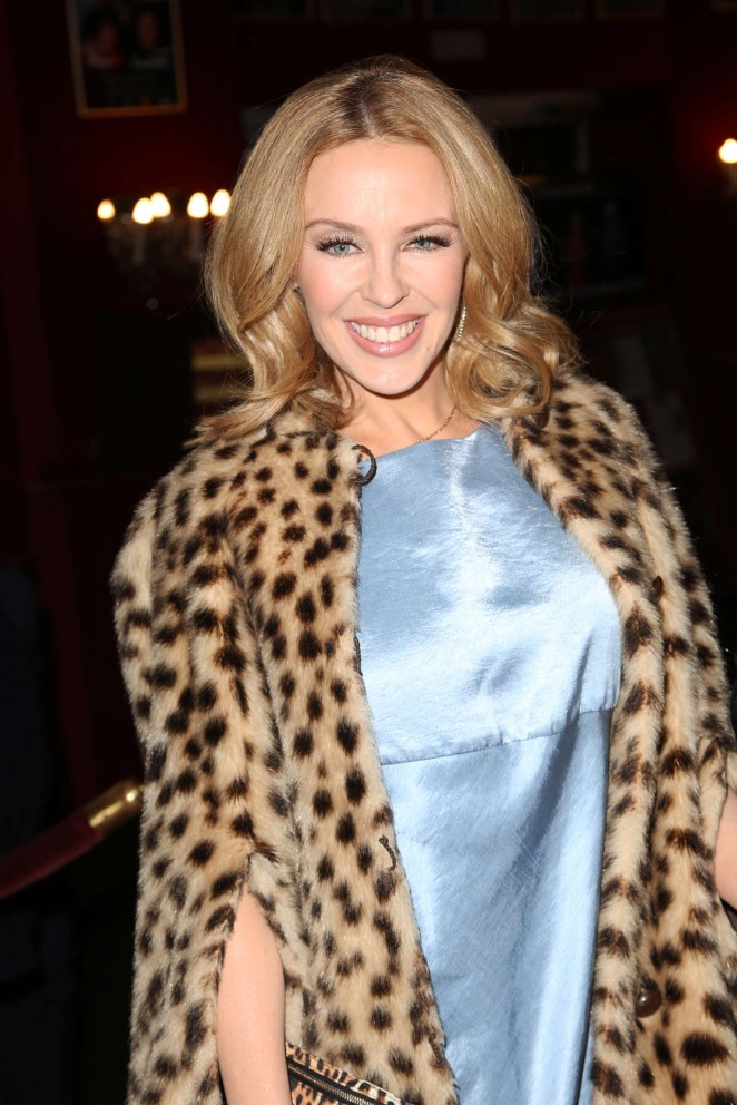 Kylie Minogue – 'Les Grandes Filles' Play Benefiting APREC in Paris