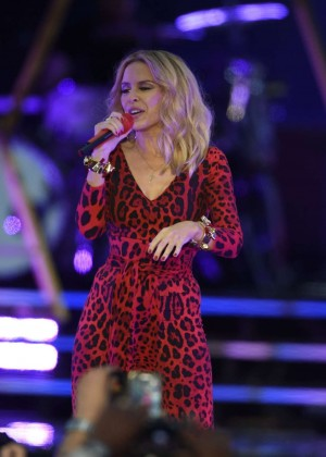 Kylie Minogue - Live in Concert at Haydock Race Corse in Liverpool