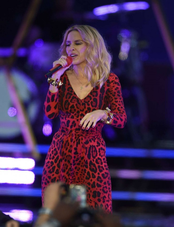 Kylie Minogue – Live in Concert at Haydock Race Corse in Liverpool