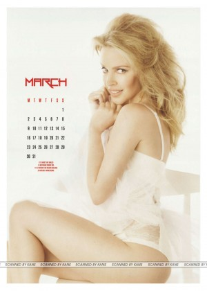 Kylie Minogue - Official Calendar 2015
