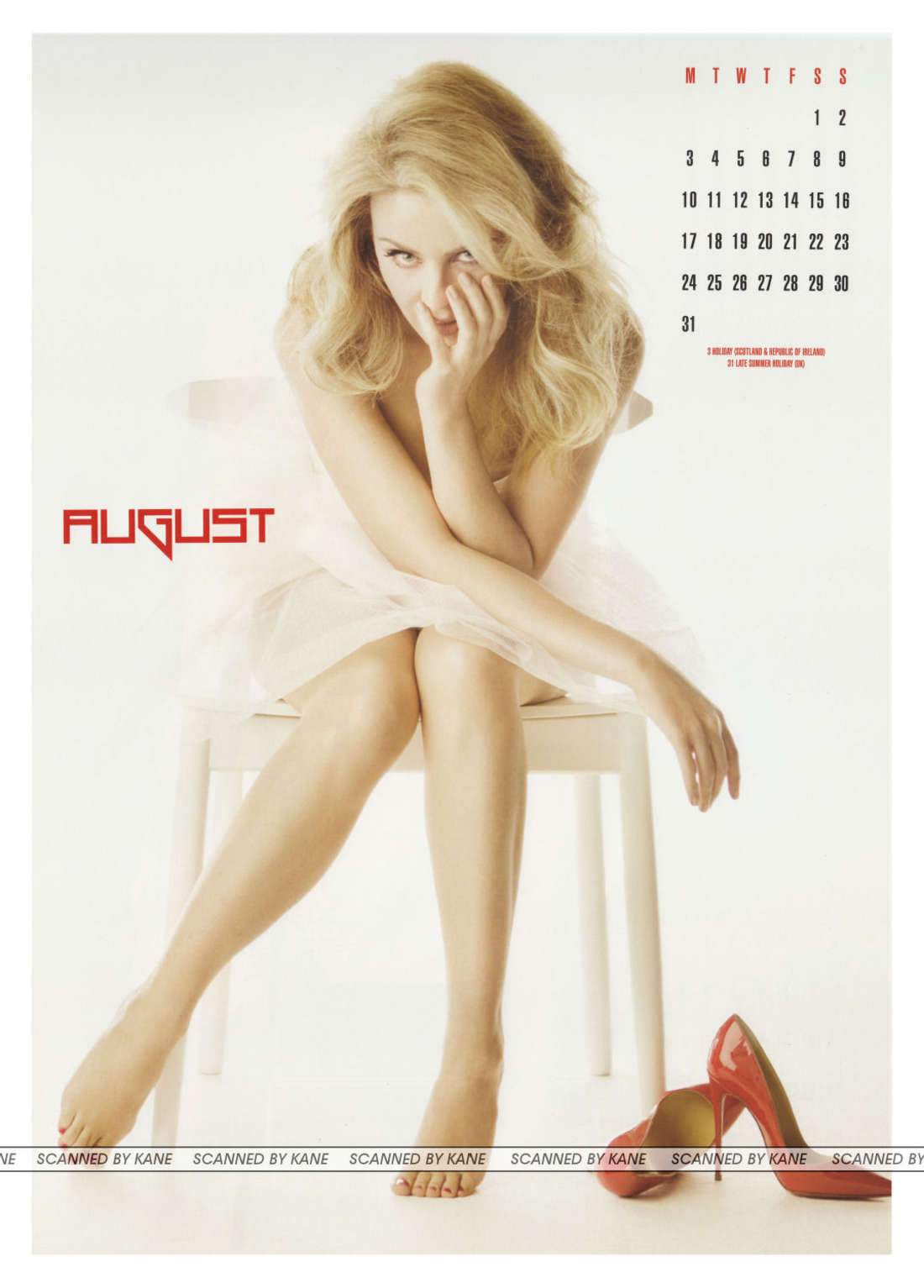 Calendar Photography 2015 : Kylie minogue official calendar gotceleb