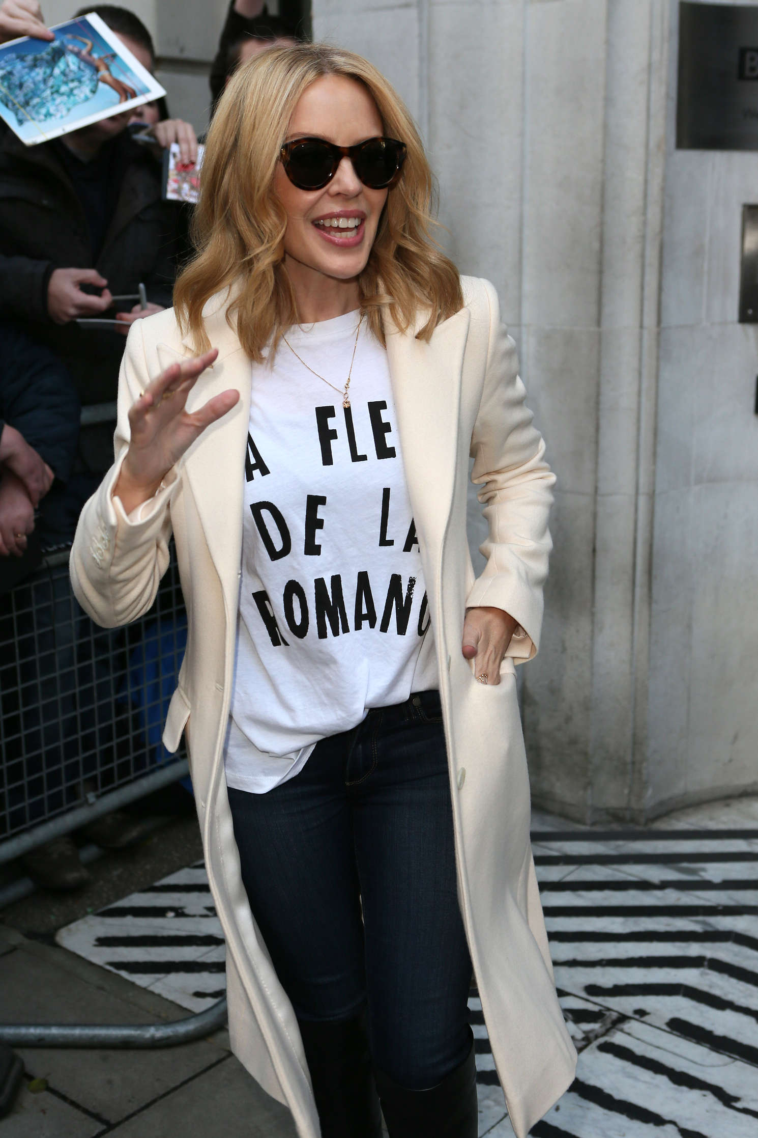 Kylie Minogue - Out and about in London
