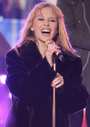 Kylie Minogue - Performance at the BBC One Show in London