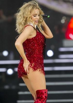 Kylie Minogue: British Summer Time Festival 2015 -11