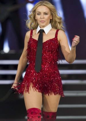 Kylie Minogue: British Summer Time Festival 2015 -12