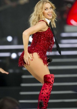 Kylie Minogue - British Summer Time Festival 2015 in London