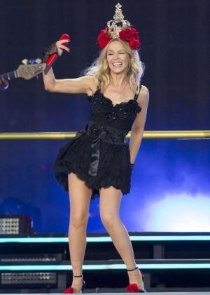 Kylie Minogue: British Summer Time Festival 2015 -36