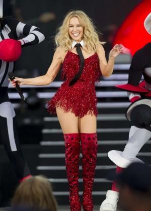 Kylie Minogue: British Summer Time Festival 2015 -37