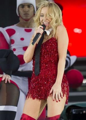 Kylie Minogue: British Summer Time Festival 2015 -39