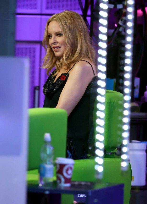 Kylie Minogue - Pictured on The One Show in London