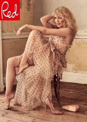 Kylie Minogue - Red Magazine (May 2018)