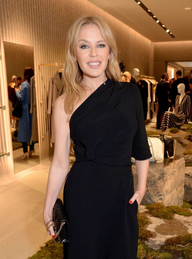 Kylie Minogue - Stella McCartney New Flagship Store Opening in London