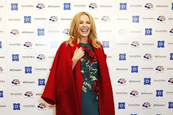 Kylie Minogue: The World Famous Oxford Street Christmas Lights Switch On Event -02