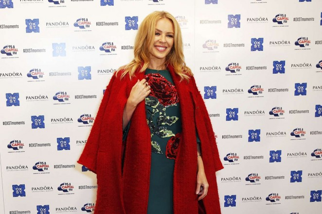Kylie Minogue: The World Famous Oxford Street Christmas Lights Switch On Event -04