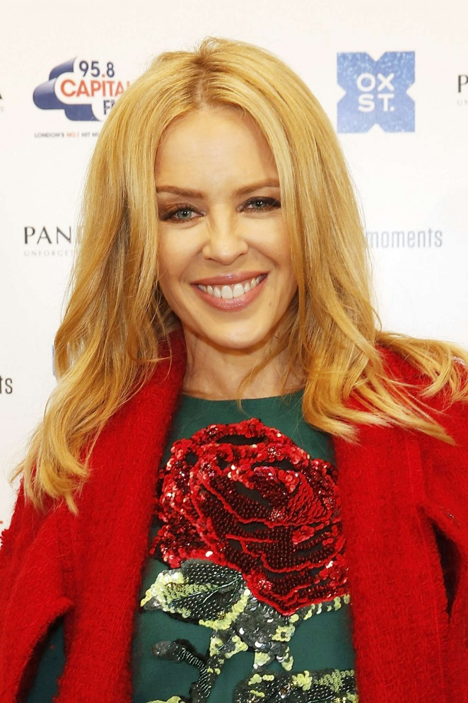 Kylie Minogue: The World Famous Oxford Street Christmas Lights Switch On Event -11