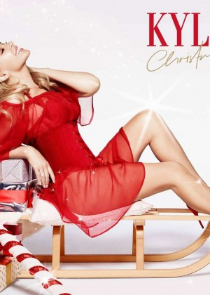 Kylie Minogue Unveils Her Upcoming Christmas Album