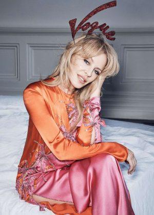 Kylie Minogue - Vogue Australia Magazine (May 2018)