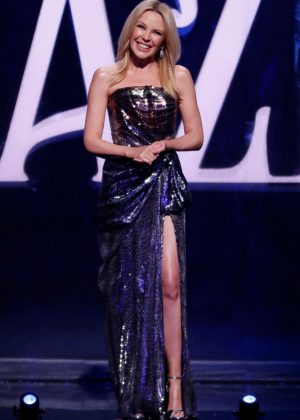 Kylie Minogue - 'We Are Most Amused And Amazed' TV Show in London