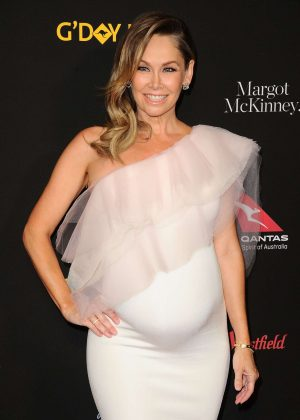 Kym Johnson - 2018 G'Day USA Black Tie Gala in LA
