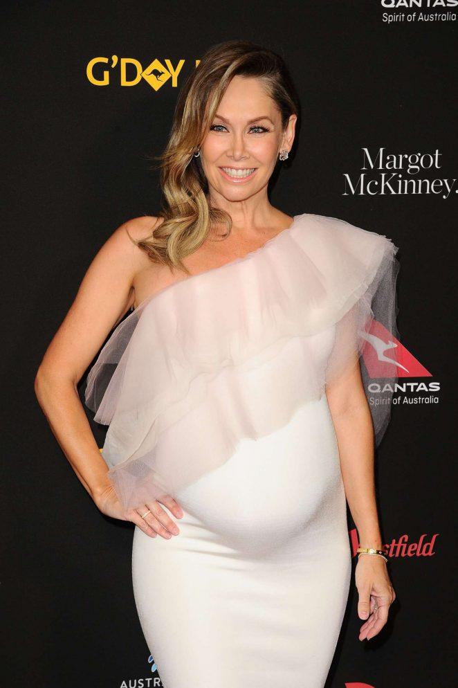 Kym Johnson – 2018 G'Day USA Black Tie Gala in LA