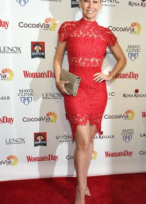 Kym Johnson - Woman's Day 14th Annual Red Dress Awards in New York