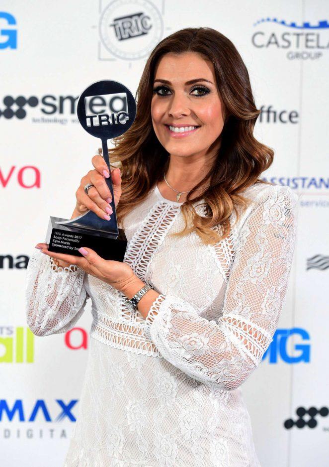 Kym Marsh - 2017 TRIC Awards in London