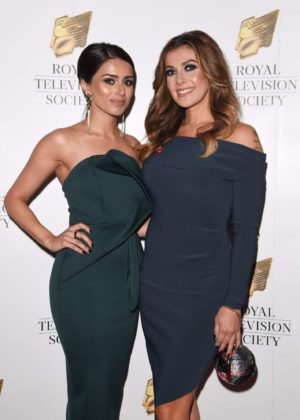 Kym Marsh and Bhavna Limbachia - 2017 Royal Television Society Awards in Manchester