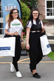 Kym Marsh and Emilie Cunliffe - Shopping at Arighi Bianchi in Cheshire