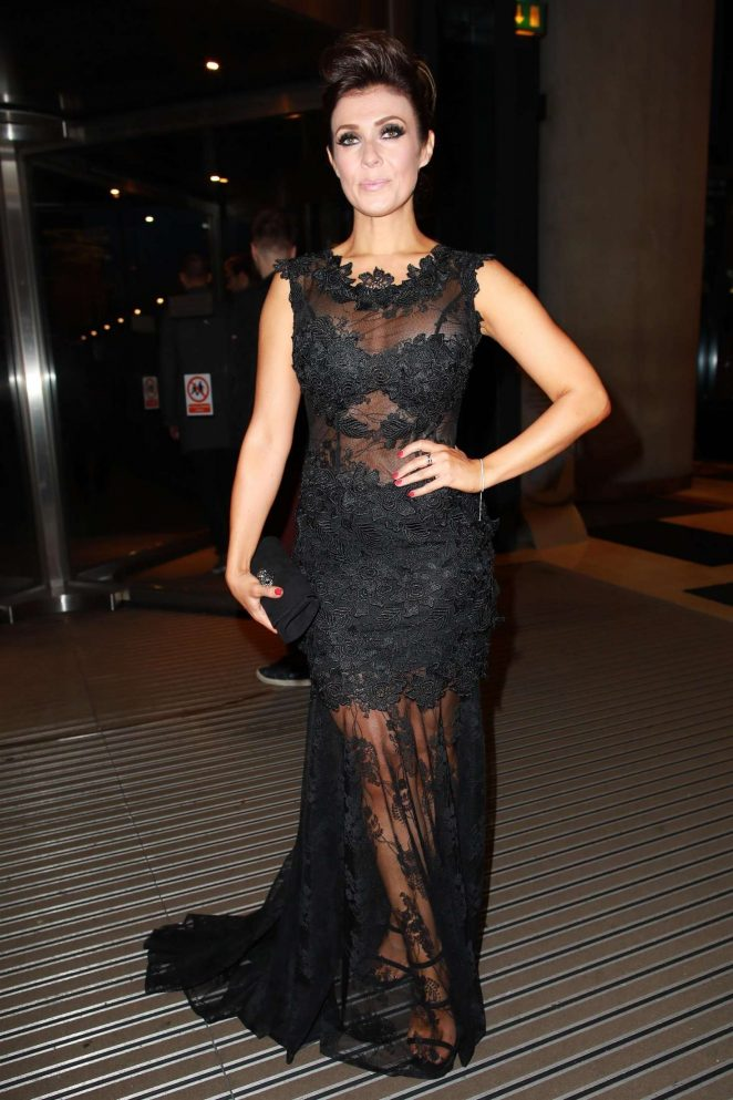 Kym Marsh - Arrives at the Hilton Hotel in Manchester