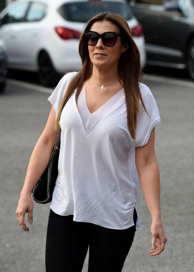 Kym Marsh - Arriving for The Inflata Nation Opening in Runcorn