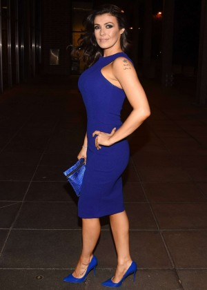 Kym Marsh at The Late Late Show in Dublin