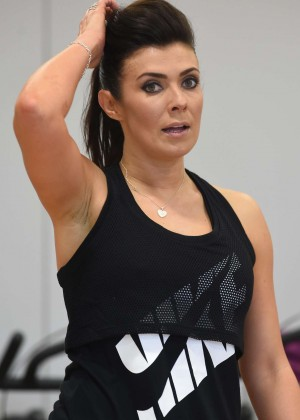 kym marsh fitness dvd launch in london