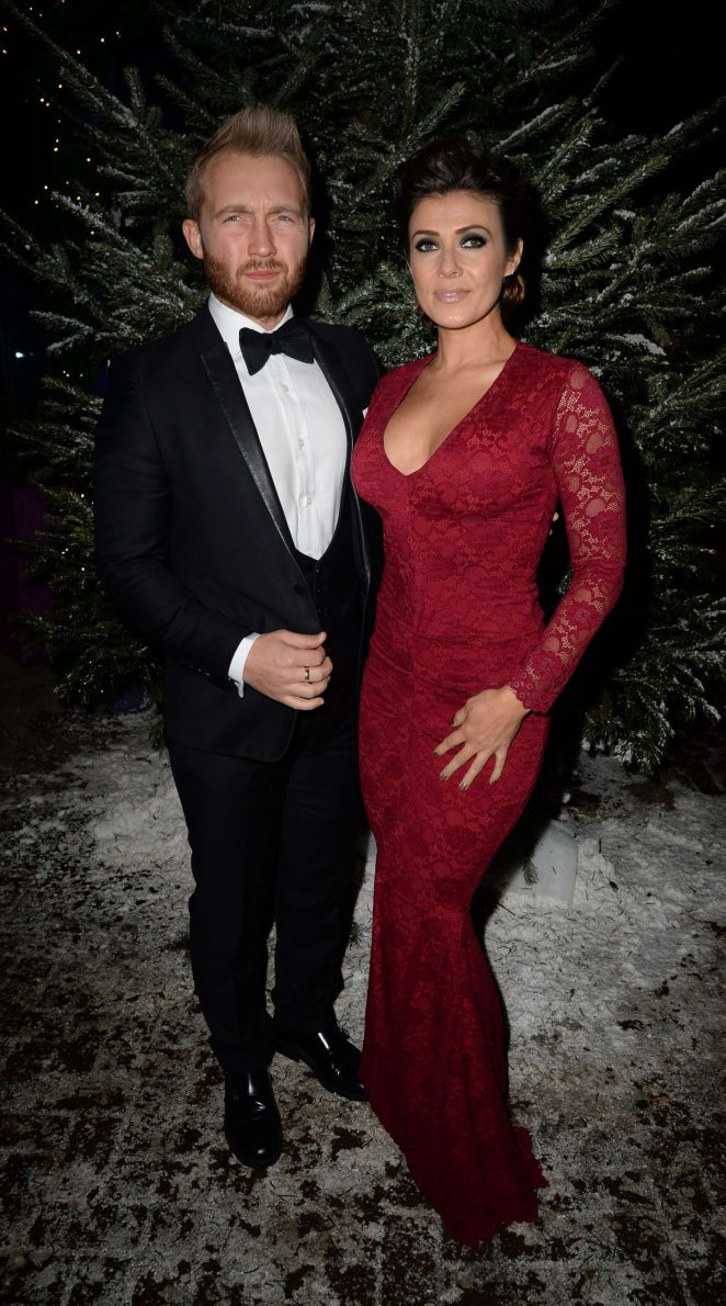 Kym Marsh - GEM Appeal Winter Ball in Manchester