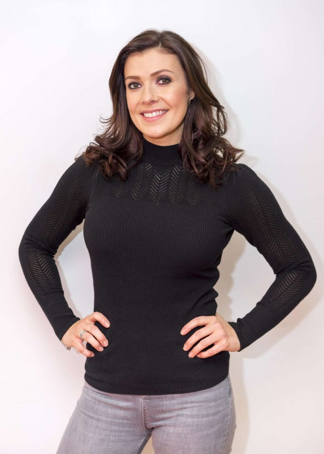Kym Marsh - 'Good Morning Britain' TV Show in London