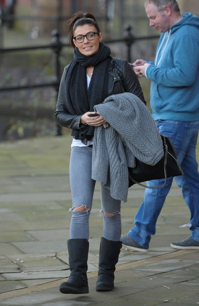 Kym Marsh in Jeans -06