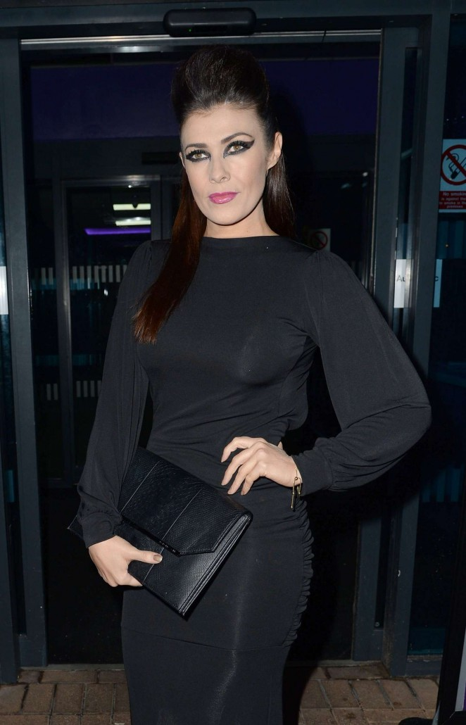 Kym Marsh - James Milner Charity Ball Nightmare Before Christmas in Manchester