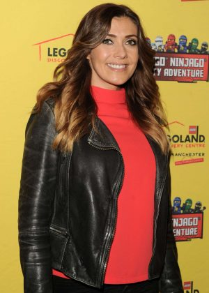 Kym Marsh - Legoland Discovery Centre Opening in Manchester
