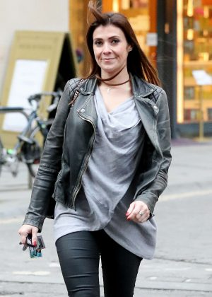Kym Marsh – Out in Manchester