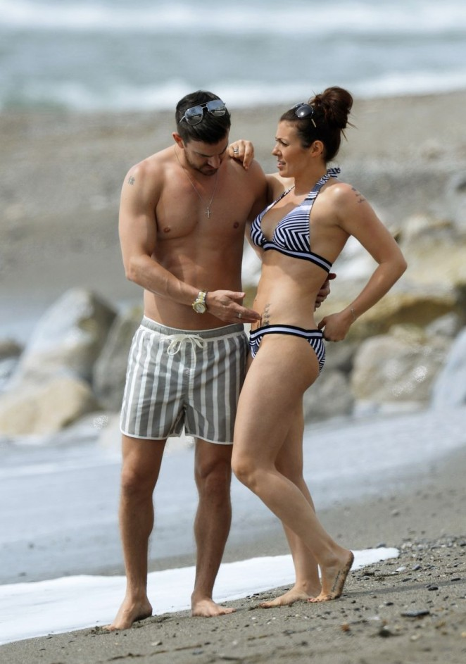 Kym Marsh in Bikini in Spain
