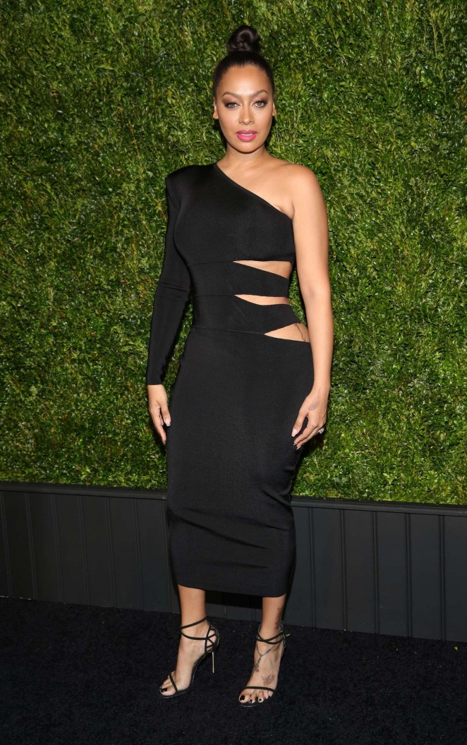 La La Anthony - 2016 Chanel Tribeca Film Festival Artists Dinner in NY