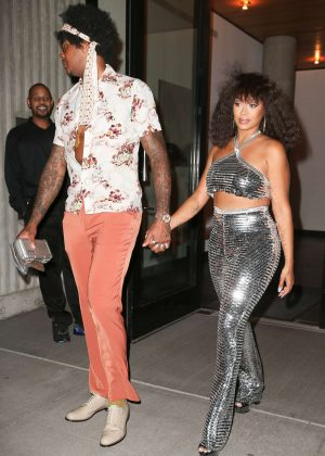 La La Anthony - Arrives at Beyonce's Birthday Party in New York