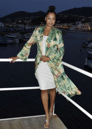 La La Anthony Attends the Premiere 'To The Bone' at Ischia Global Festival in Italy