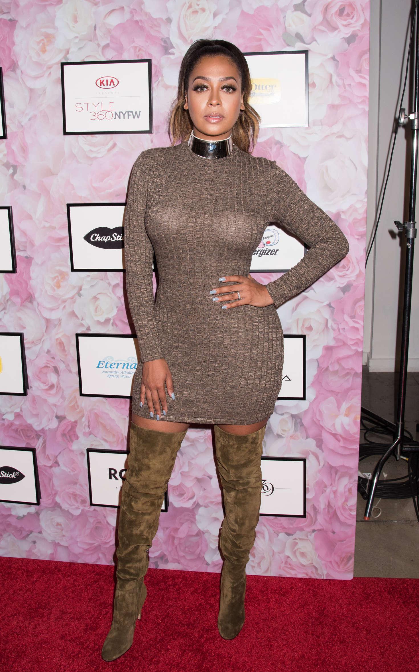 La La Anthony Hsn Presents Serena Williams Signature Statement Collection Fashion Show 2016 In Ny