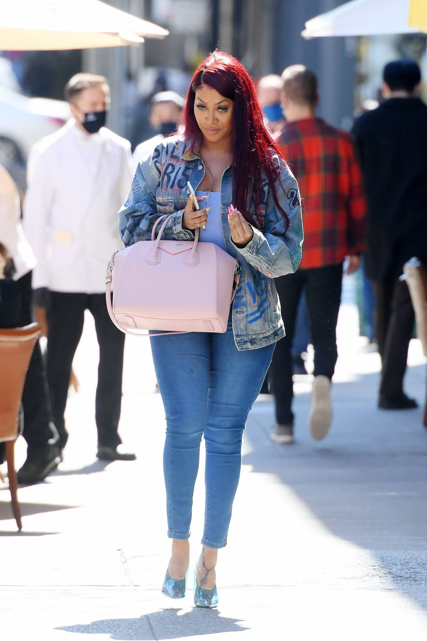 La La Anthony - Lunch at Cipriani in New York