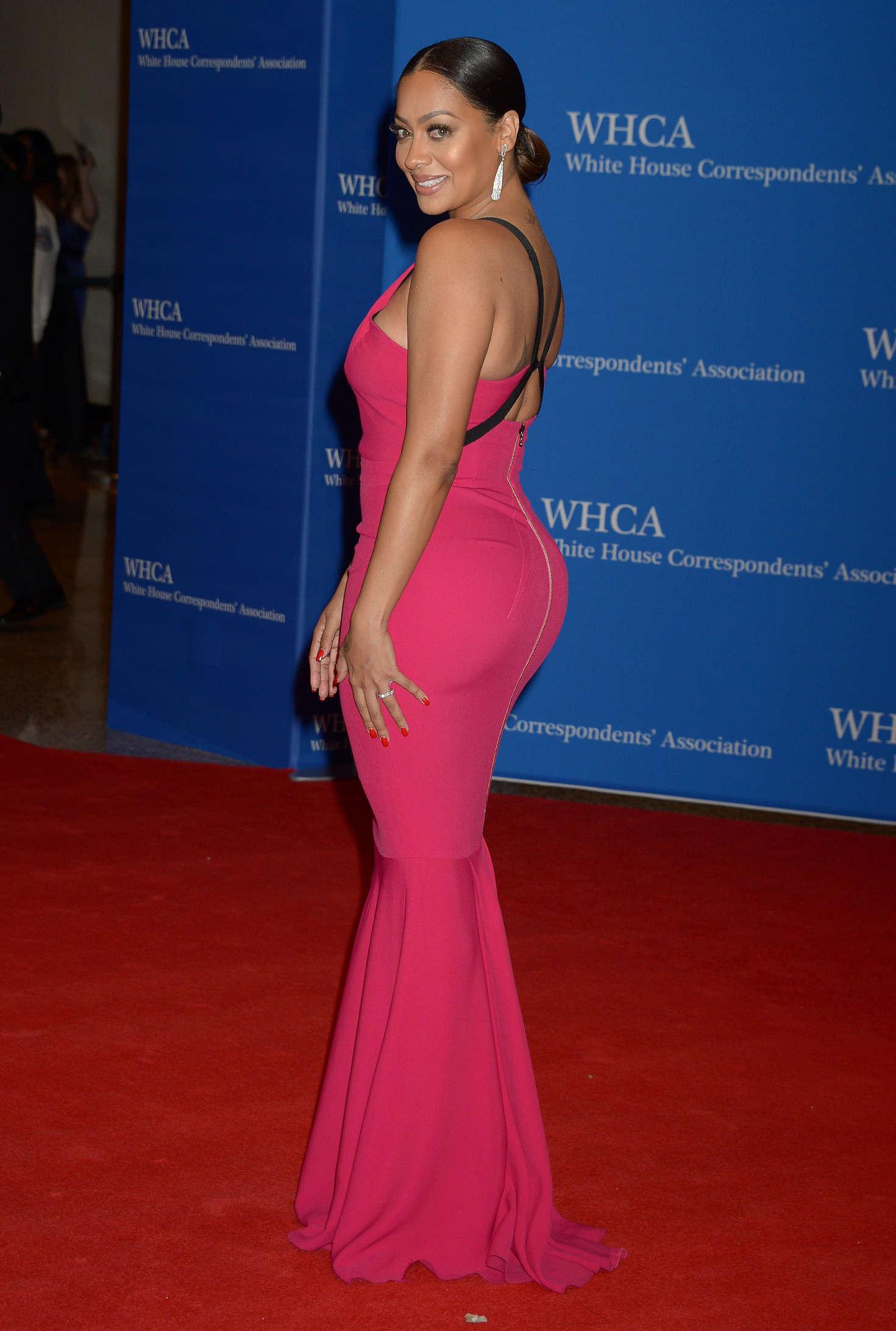 Back to FULL gallery La La Anthony – White House Correspondents ... Miley Cyrus