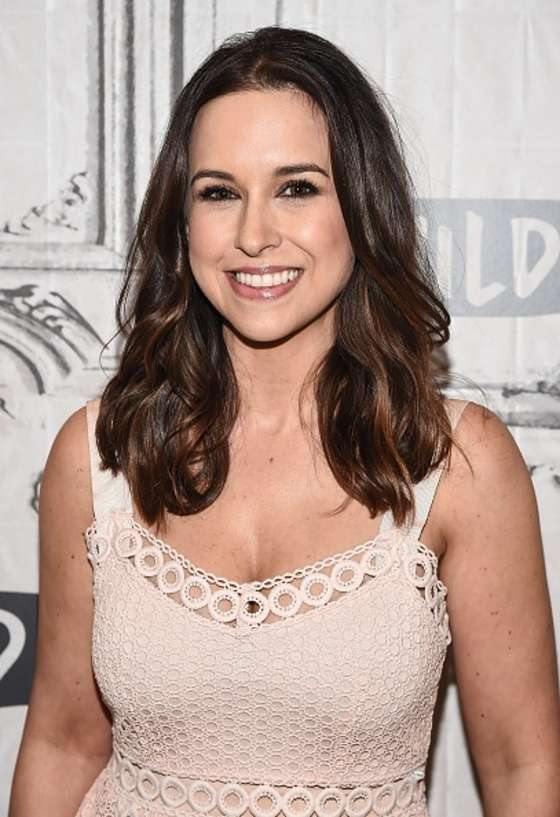 Lacey Chabert - AOL Build Speaker Series in New York