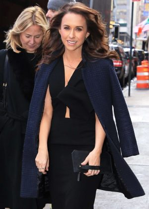 Lacey Chabert - Outside Good Morning America in NYC