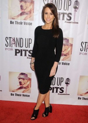 Lacey Chabert - Stand Up For Pits Comedy Benefit in Hollywood
