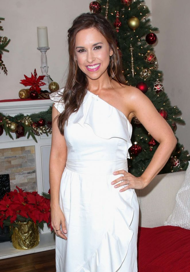 Lacey Chabert – Visits Hallmark's 'Home and Family' Celebrating 'Christmas In July' in Universal City